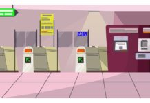 Electronic toll gate