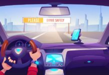 Smart connected Signs for Road Safety