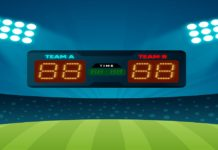 Best student project on the Score Board-Cricket application