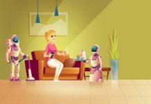 Smart Floor Cleaner Robot