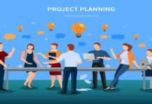 Project planning for the renovation of a mall